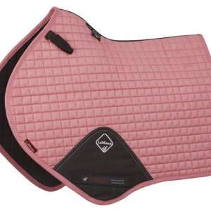 LeMieux ProSport Suede Close Contact Square – Blush Pink