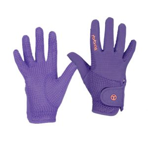 Toggi Budenny Riding Glove – Plum