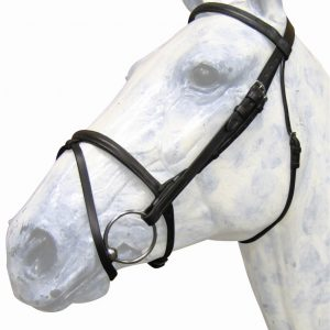 Euro Flash Bridle with Rubber Reins