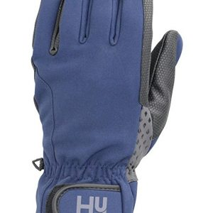 HY Water Repellent Softshell Riding Glove – Navy