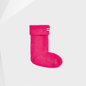Hunter Kids Welly Sock – Fuchsia