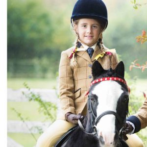 Childrens Equetech Wheatley Deluxe Tweed Jacket