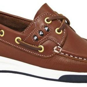 Dubarry Kapley Kid's Deck Shoe – Brown