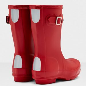 Hunter Kids Wellington Boot – Military Red