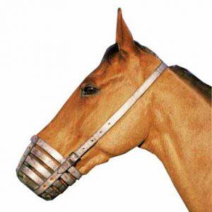 Shires Leather Bar Muzzle