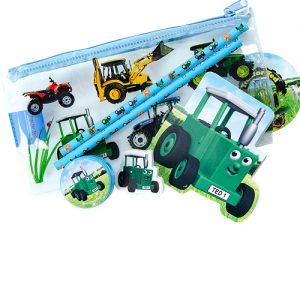 Tractor Ted Pencil Case (Filled)