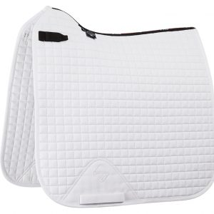 LeMieux ProSport Cotton Dressage Square D-Ring Cotton – White