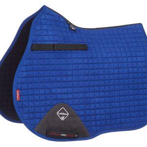 LeMieux ProSport Suede GP Square – Benetton Blue