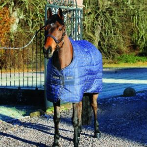Rhino Original Stable Rug- Navy/Cream Check
