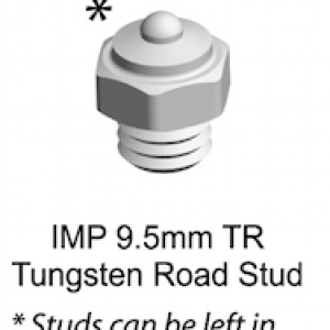 KEP EasyStuds – 9.5mm Tungsten Road Stud