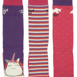 Toggi Shalimar Children's Three Pack Unicorn Socks