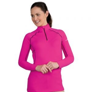 Ladies Shires AIR DRI Cross Country Shirt – Pink