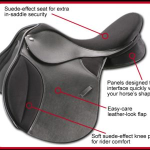 Thorowgood T4 GP High Wither Saddle