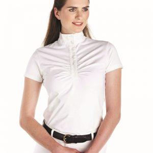 Caldene Ladies Allerton Show Shirt – White