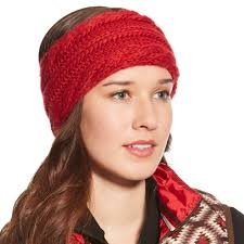Ariat Ladies Cable Headband – Rouge