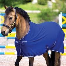 Horseware Pony Amigo Cooler- Atlantic Blue/Ivory