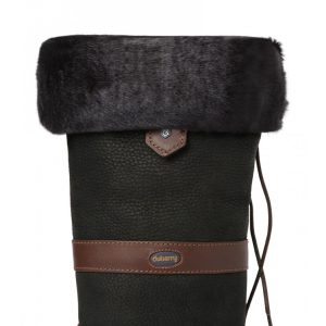 Dubarry Faux Fur Boot Liners – Black
