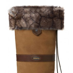 Dubarry Faux Fur Boot Liners – Elk