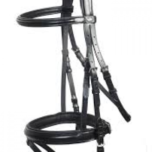 Schockemohle Bremen Bridle with Rubber Reins