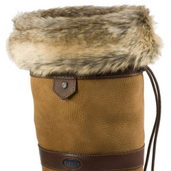 Dubarry Faux Fur Boot Liners – Chinchilla