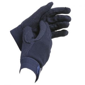 Shires Cotton Pimple Gloves – Childs