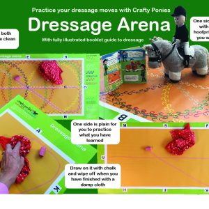 Crafty Ponies Dressage Arena