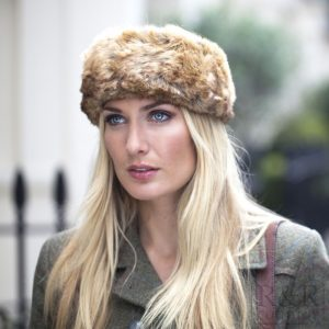Dubarry Fur Headband – Chinchilla