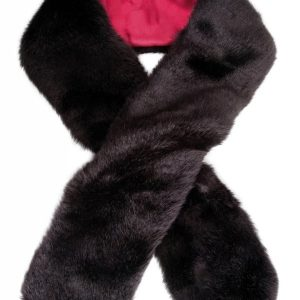 Dubarry Fur Scarf – Black