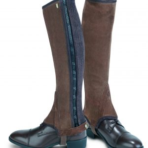 Tredstep Original Half Chaps- Brown