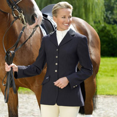 Pikeur Ladies Epsom Show Jacket – Navy