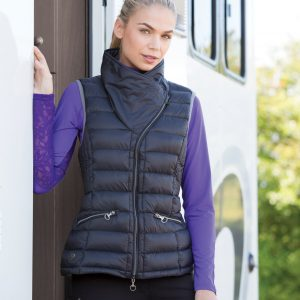 Equetech Ladies Chalgrove Micro Gilet – Charcoal