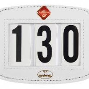 Hamag LeMieux Saddle Pad Number Holder