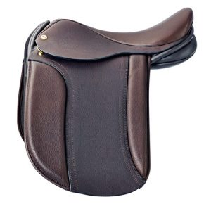 Black Country Classic Show Saddle – Brown 17.5″ Medium/Wide