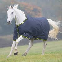 Shires Tempest Original 200 Turnout Rug – Charcoal/Lime