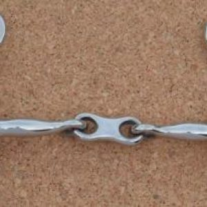 French Link Hanging Cheek Snaffle