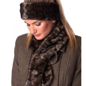 Dubarry Fur Headband – Elk