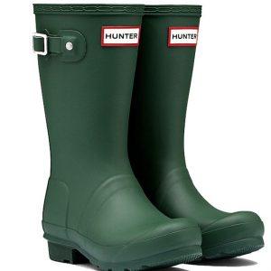 Hunter Kids Wellington Boot – Green