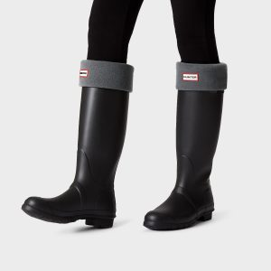 Hunter Welly Sock – Dark Slate