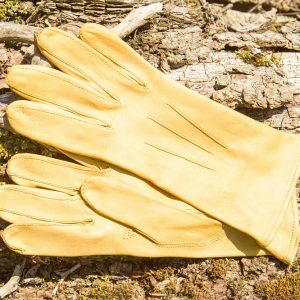 Childrens Competitor Leather Glove – Sunshine