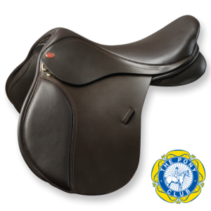 Kent and Masters Pony Club GP Saddle – Brown 16.5″