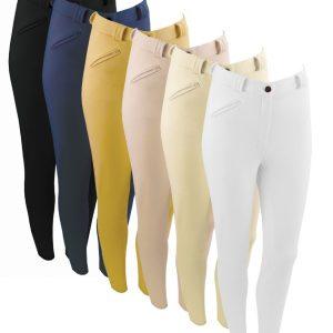 Ladies Equetech Grip Seat Breeches