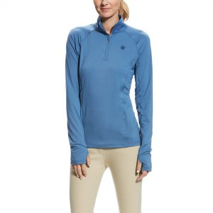 Ariat Ladies Lowell 2.0 1/4 Zip – Grisblue