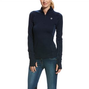 Ariat Ladies Lowell 2.0 1/4 Zip – Navy
