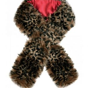 Dubarry Fur Scarf- Leopard