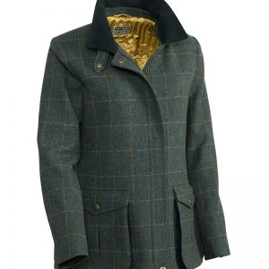 Hoggs Of Fife Sherborne Ladies Lambwool Field Coat