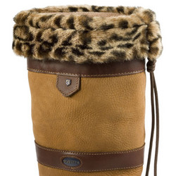 Dubarry Faux Fur Boot Liners – Leopard