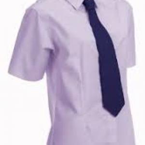 Equetech Ladies Flexion Sretech Show Shirt- Lilac