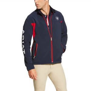 Ariat Mens Team Softshell – Navy
