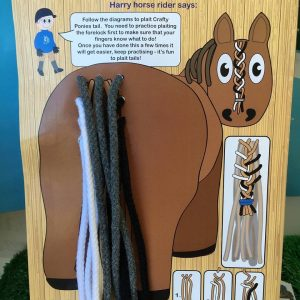 Crafty Ponies Plait Tail Board