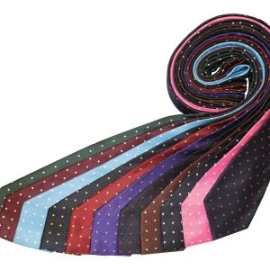 Equetech Polka Dot Tie- Adults